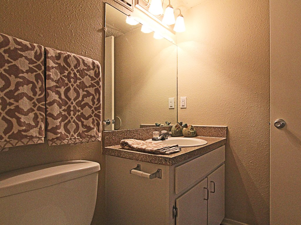 Apartment Bathroom at Parks on the Green, TX, 76504